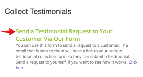 Fill Out This Form To Send To Your Customer. They Will See The Information  That You Input Here.